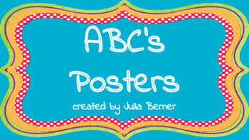 ABCs Posters
