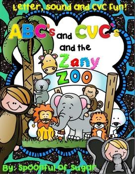 ABC's and CVC's at the Zany Zoo