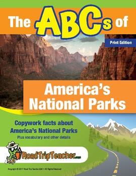 National Parks Handwriting Printables (Manuscript Edition)
