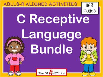ABLLS-R ALIGNED C Receptive Language Bundle