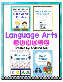 Language Arts Bundle: Hands on Activities