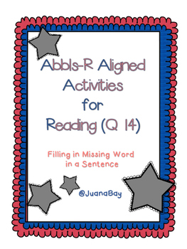ABLLs-R Aligned Reading Comprhension- Q14