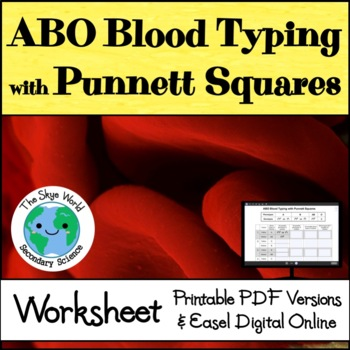 ABO Blood Typing with Punnett Squares