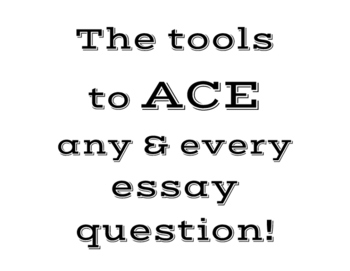 ACES Writing Handout and Posters