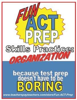 Fun ACT English Prep: Organizing Sentences & Paragraphs Sk
