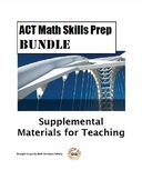 ACT Math Quick Prep SKILLS BUNDLE!