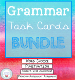 Grammar Task Cards Bundle