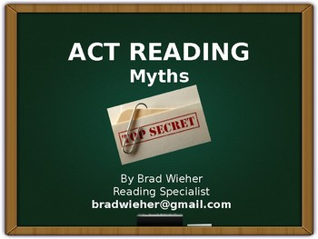 ACT Test-Reading Myths
