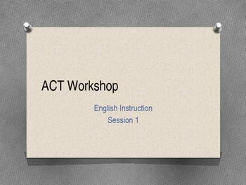 ACT Workshop #1