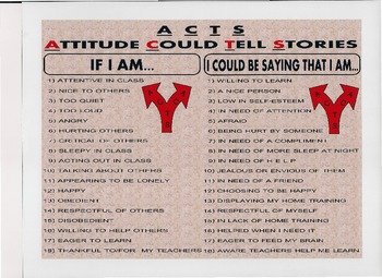 ACTS - Attitudes Can Tell Stories