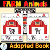 ADAPTED BOOK-Farm (PreK-2/SPED/ELL)
