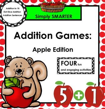 ADDITION GAMES:  Apple Edition