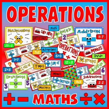 ADDITION SUBTRACTION MULTIPLICATION DIVISION  OPERATIONS K