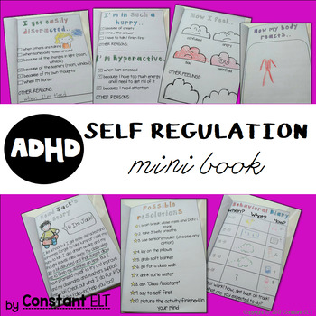 ADHD and Behavior Management: Self-regulation Mini Book