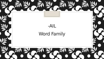 AIL Words Power Point