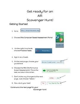 AIR Scavenger Hunt - Social Studies
