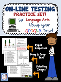 On-Line Testing Practice Set (for Language Arts)