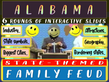 ALABAMA FAMILY FEUD! Engaging game about cities, geography