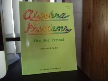 ALGEBRA PROBLEMS   ISBN  0-86651-545-3   21104