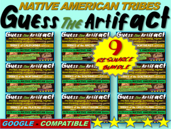 "ALL 9 Native American ""Guess the artifact"" games: PPT w pi"