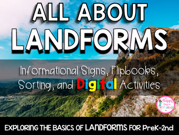 ALL ABOUT LANDFORMS (K-2)