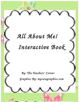 All About Me! An Interactive Book