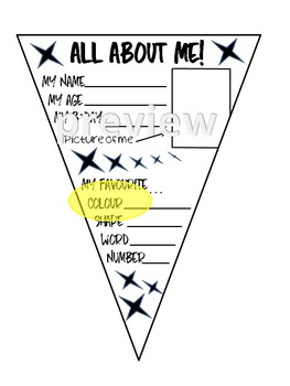 ALL ABOUT ME CLASSROOM DECORATION - AUSTRALIAN