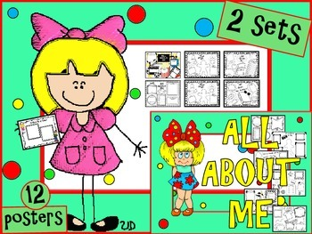 ALL ABOUT ME POSTERS - COMBO (FIRST AND SECOND EDITIONS)