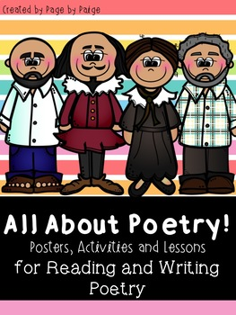 ALL ABOUT POETRY- Reading and Writing Unit