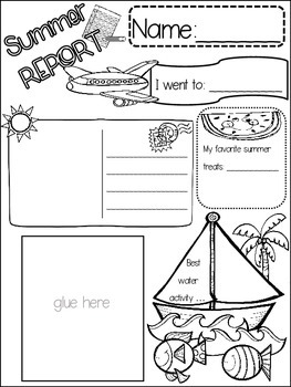 ALL ABOUT SUMMER POSTER {{quick topics}} one interactive w