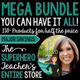 ALL of The SuperHERO Teacher's Products for HALF the Price!