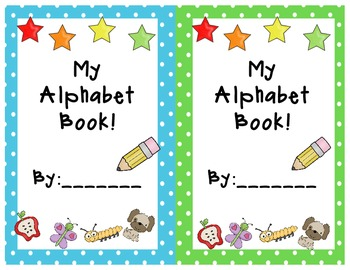 ALPHABET BOOK FOR EARLY WRITERS!