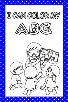 ALPHABET WORKSHEET TO COLOR