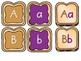 ALPHABET Center ~ PB & J (Matching, Letter Recognition or