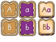 ALPHABET Center ~ PB & J (Matching, Letter Recognition or