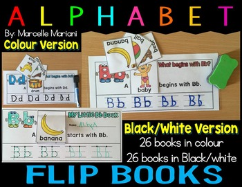 ALPHABET WRITING AND TRACING PRACTICE FLIP BOOKS