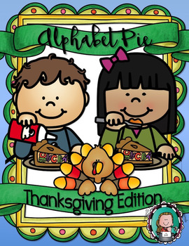 ALPHABET PIE {Thanksgiving A to Z Posters, Vocabulary Card