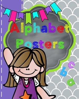 ALPHABET POSTERS -No words.