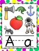 Dots Bright Colors Alphabet Posters
