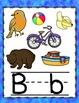 Ocean Background Alphabet Posters