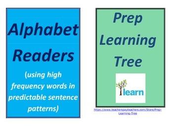 ALPHABET READERS  Queensland Font High Frequency words