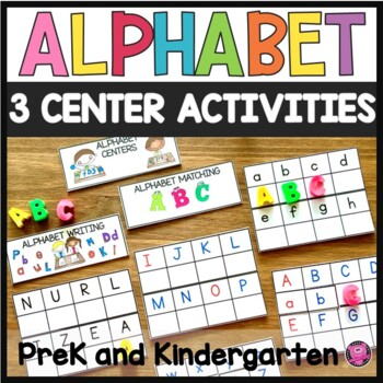 Alphabet Matching set of Upper and Lower Case Letters