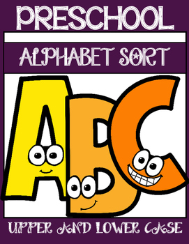 ALPHABETS SORT (UPPER AND LOWER CASE)