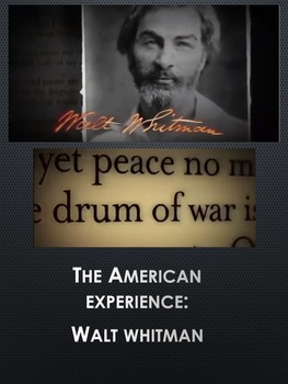 AMERICAN EXPERIENCE—WALT WHITMAN: VIEWING GUIDE