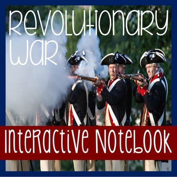 AMERICAN REVOLUTION- Revolutionary War- Social Studies Not