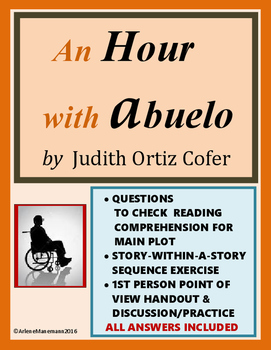 AN HOUR WITH ABUELO Reading Check Questions and more