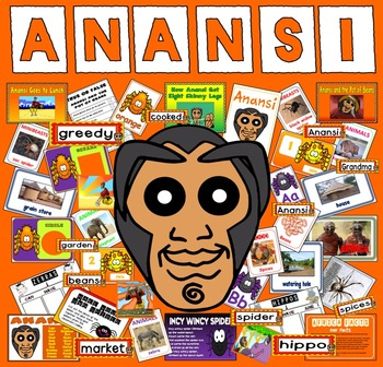 ANANSI STORY TEACHING RESOURCES EYFS KS1 READING AFRICA SP