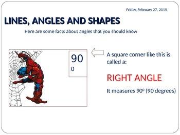 ANGLES - BASICS II