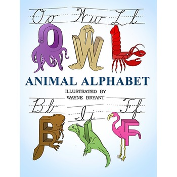 ANIMAL ALPHABET (CARDS SET A-Z)