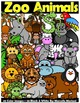 ANIMALS CLIP ART MEGA BUNDLE: FARM CLIP ART, ZOO ANIMALS,